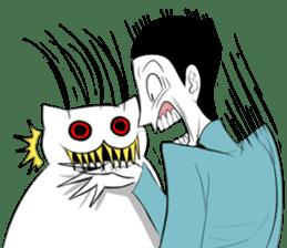 Meawbin The Creepy Cat sticker #702549