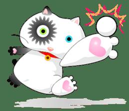 PandaCat sticker #703760