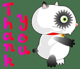 PandaCat sticker #703769