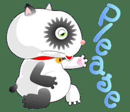 PandaCat sticker #703771