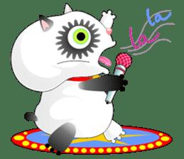 PandaCat sticker #703774