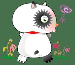 PandaCat sticker #703780