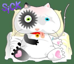 PandaCat sticker #703782