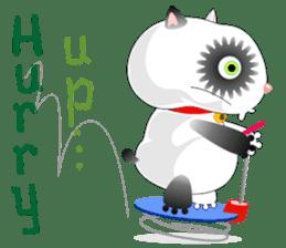 PandaCat sticker #703785