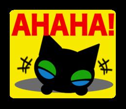 kuri kuru-kun of the black cat sticker #704173