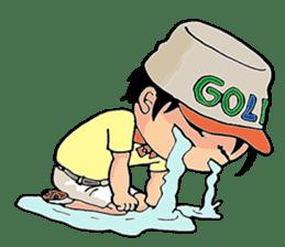WE LOVE GOLF !! sticker #709452