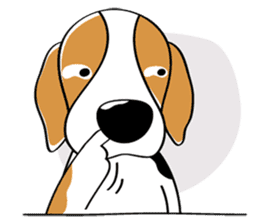 Toffee The Beagle sticker #709799