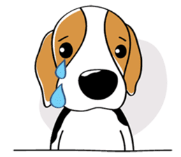 Toffee The Beagle sticker #709805