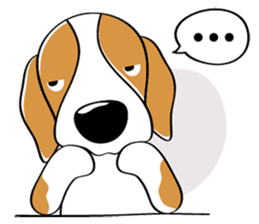 Toffee The Beagle sticker #709809