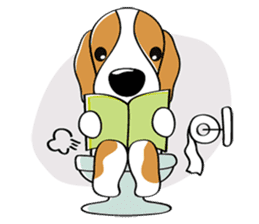 Toffee The Beagle sticker #709812