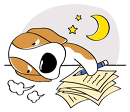 Toffee The Beagle sticker #709814