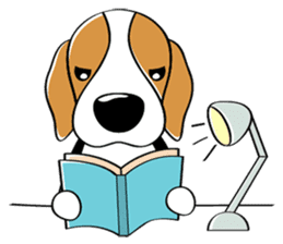 Toffee The Beagle sticker #709818