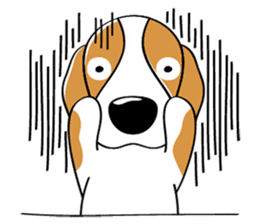 Toffee The Beagle sticker #709825