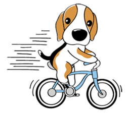 Toffee The Beagle sticker #709829