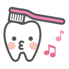 Let's try! Oral care!