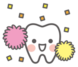 Let's try! Oral care! sticker #710036