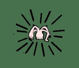 Hydra magnipapillata sticker #711322