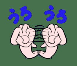 Hydra magnipapillata sticker #711329