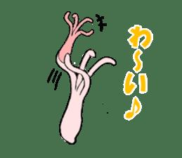 Hydra magnipapillata sticker #711350