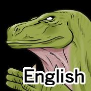 สติ๊กเกอร์ไลน์ Dinosaurs Sticker (English version)