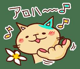 the pad of cat @ hawaii sticker #713071