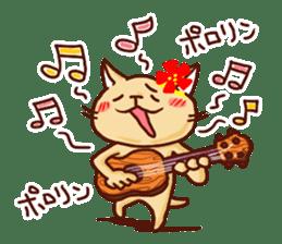 the pad of cat @ hawaii sticker #713077