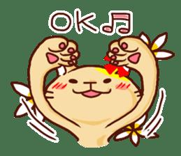 the pad of cat @ hawaii sticker #713084