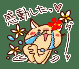 the pad of cat @ hawaii sticker #713086