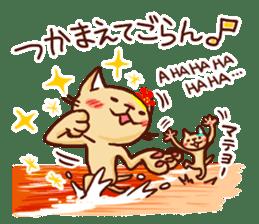 the pad of cat @ hawaii sticker #713091