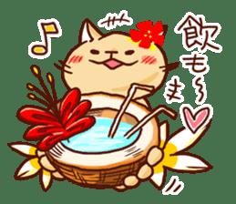 the pad of cat @ hawaii sticker #713094