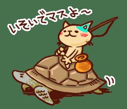 the pad of cat @ hawaii sticker #713097