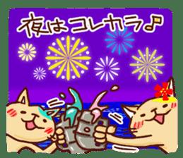 the pad of cat @ hawaii sticker #713106