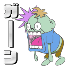 Life of zombie sticker #713678