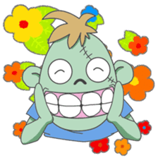 Life of zombie sticker #713684
