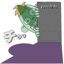 Life of zombie sticker #713694
