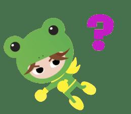 NinjaFrog_English_Ver sticker #715792