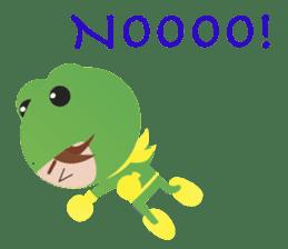 NinjaFrog_English_Ver sticker #715797