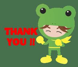 NinjaFrog_English_Ver sticker #715799