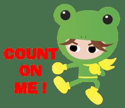 NinjaFrog_English_Ver sticker #715808