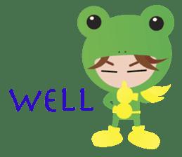 NinjaFrog_English_Ver sticker #715811