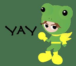 NinjaFrog_English_Ver sticker #715812