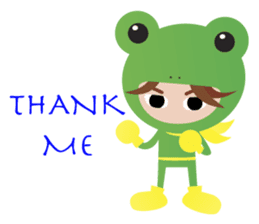 NinjaFrog_English_Ver sticker #715813