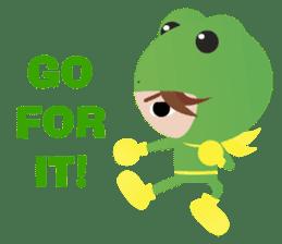 NinjaFrog_English_Ver sticker #715818