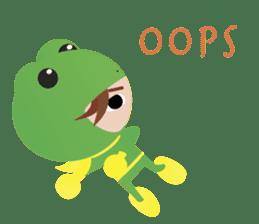 NinjaFrog_English_Ver sticker #715819
