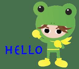 NinjaFrog_English_Ver sticker #715820