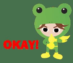 NinjaFrog_English_Ver sticker #715822