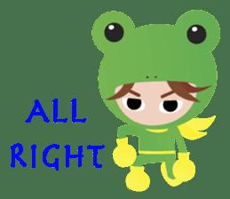 NinjaFrog_English_Ver sticker #715827