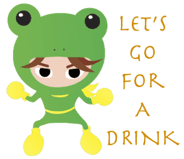 NinjaFrog_English_Ver sticker #715829