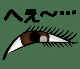Eye force sticker #716036