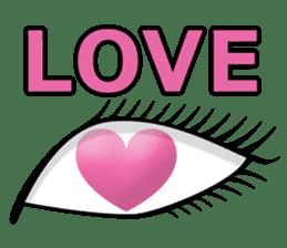 Eye force sticker #716057